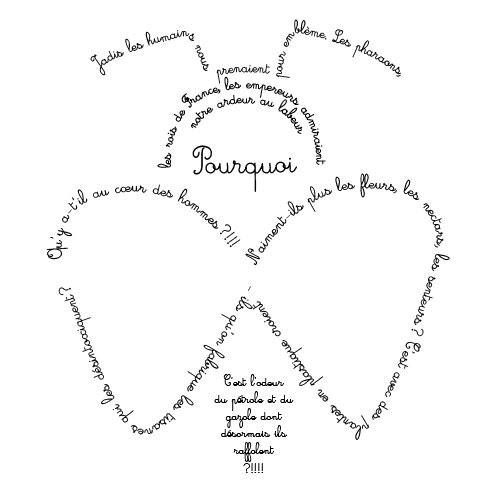 Calligramme illustration